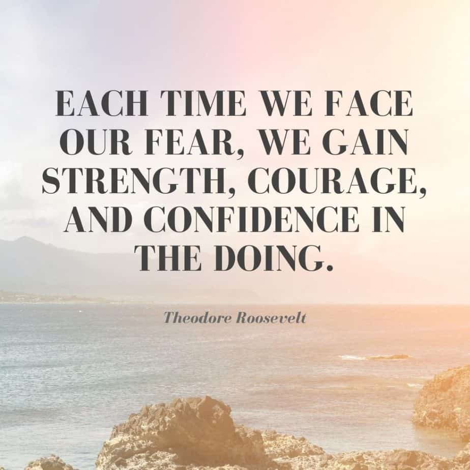 confidence motivational quotes Theodore Roosevelt