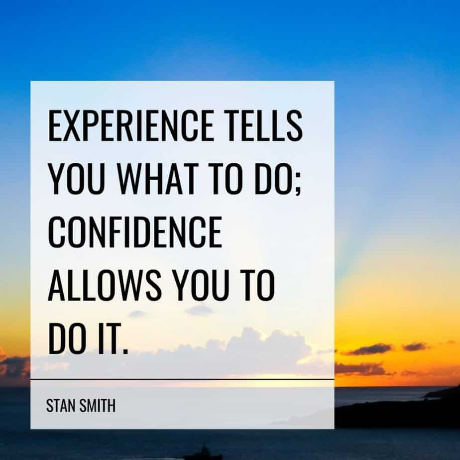 confidence motivational quotes stan smith
